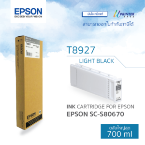 EPSON ink T892700 for S80670