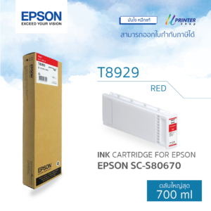 EPSON ink T892900 for S80670