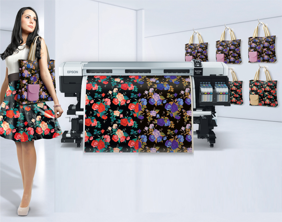 uPrinter EPSON F9270 garment textile