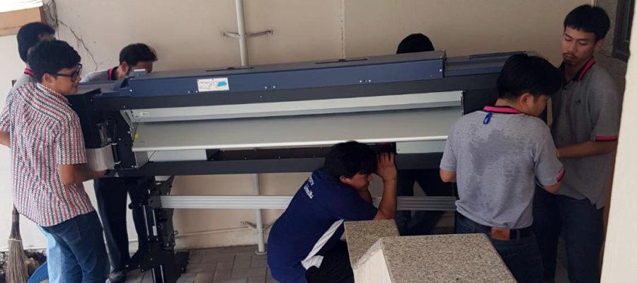 uPrinter installation team Epson LFP Expert (1)