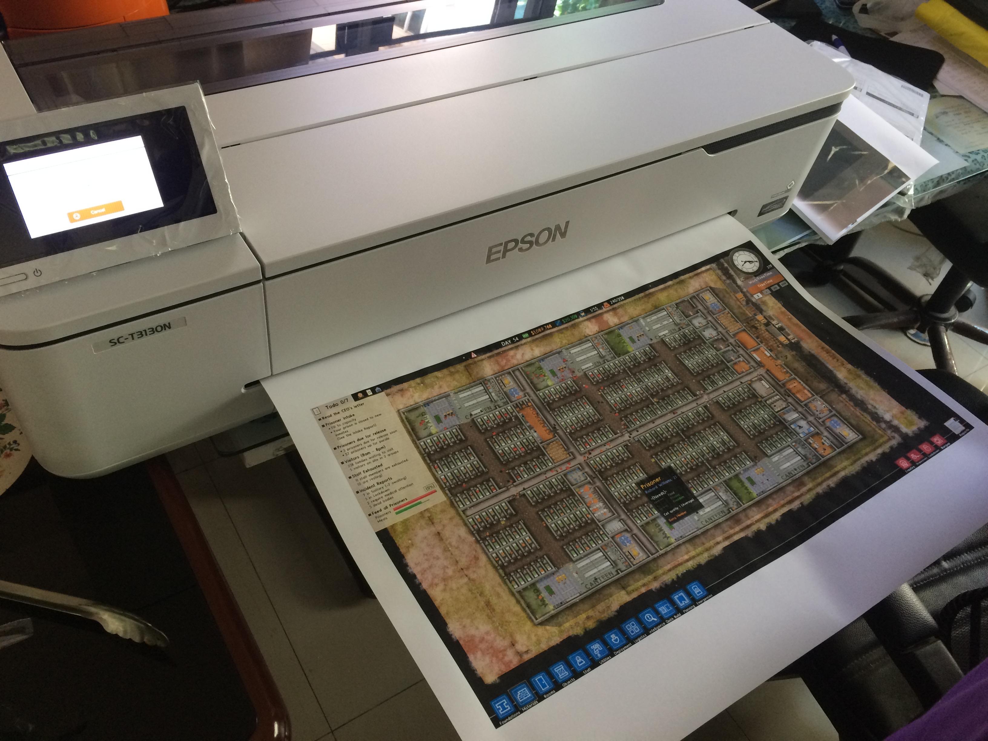 Epson SureColor T3130N uprintershop.com