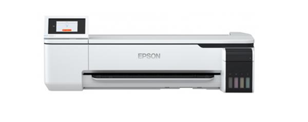Epson SurePress SC-T3130X T3130X A1 Large format Printer Plotter Refill Ink bottle Tank front view uPrinterShop