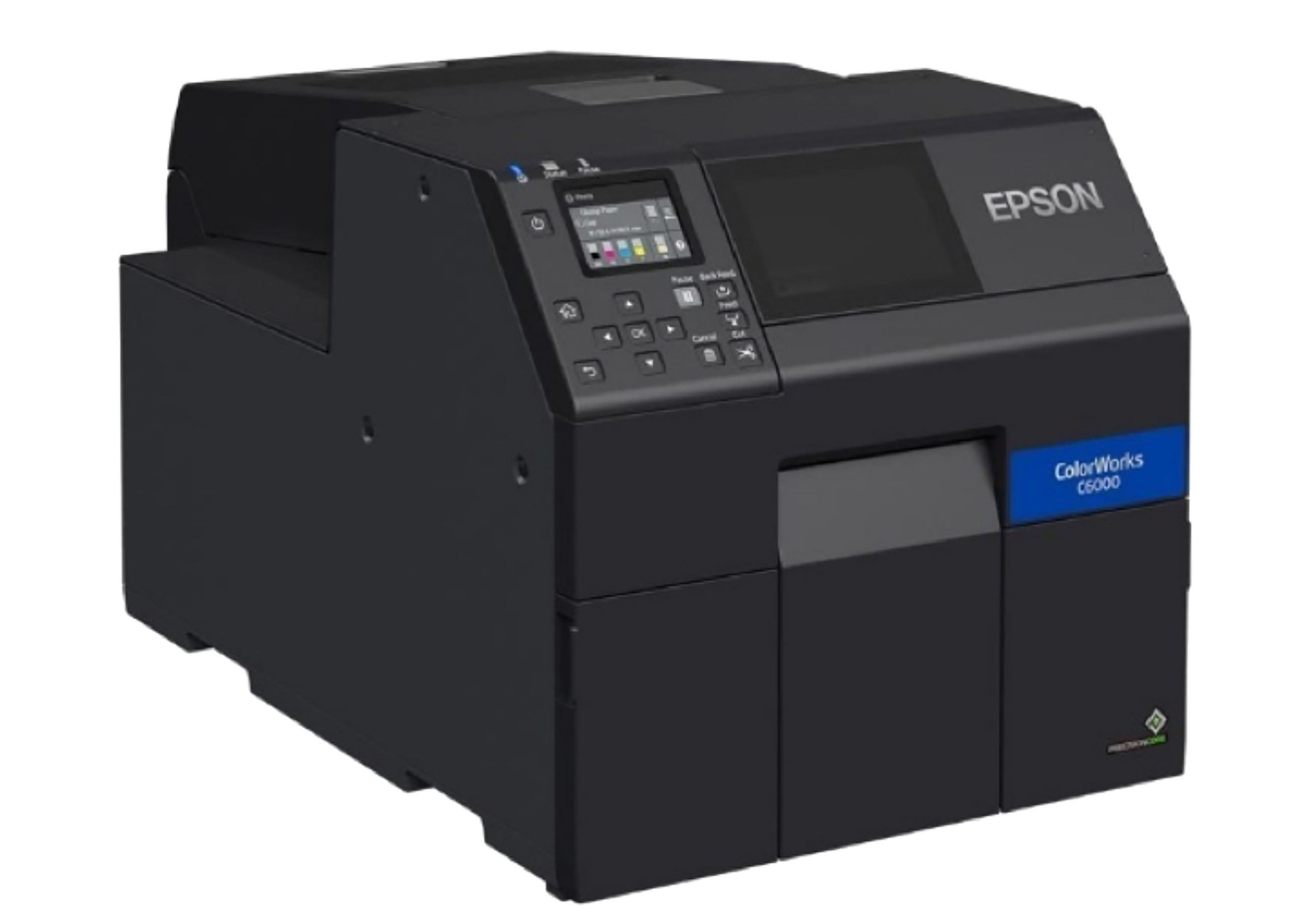 Epson ColorWork CW-C6050A C6050A Label Printer Color Inkjet Auto cutter 4inch_