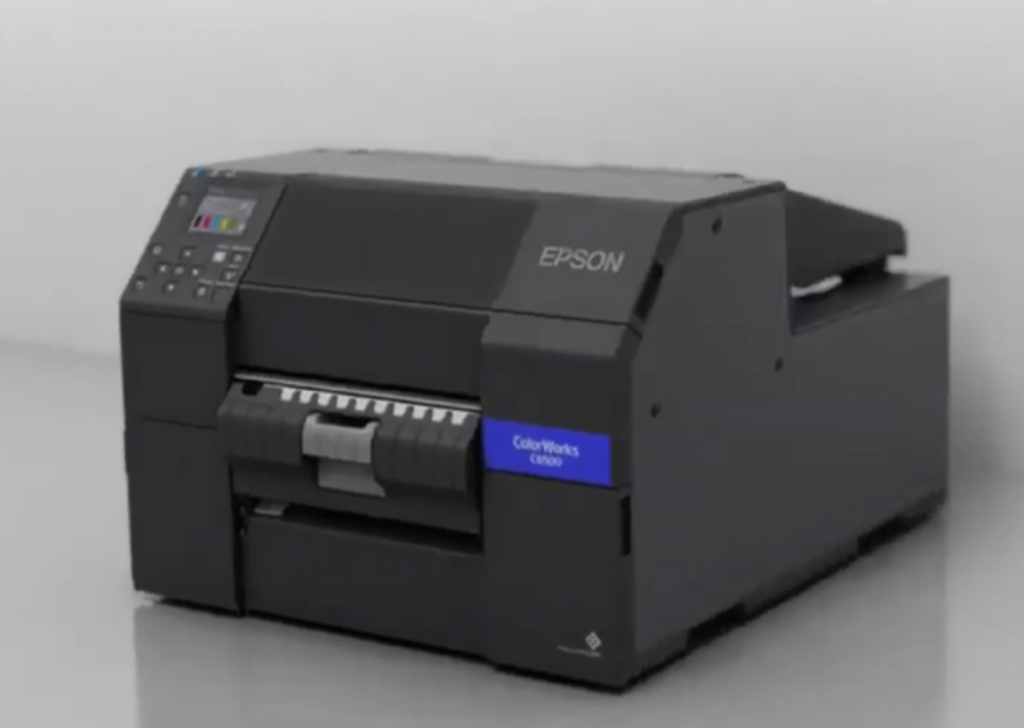 Epson ColorWork CW-C6550P C6550P Label Printer Color Inkjet Auto Peeler Model 8inch uPrinterShop SAP Direct Windows Linux Zebra Language Driver_