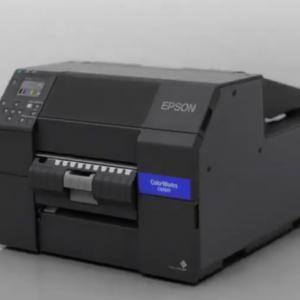Epson ColorWork CW-C6550P C6550P Label Printer Color Inkjet Auto Peeler Model 8inch uPrinterShop SAP Direct Windows Linux Zebra Language Driver_
